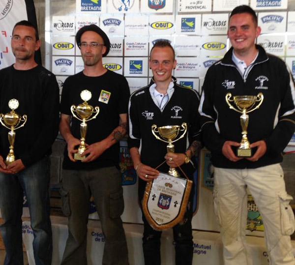champions de Bretagne doublette 2016